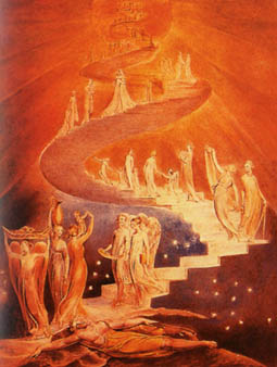 Jakobsleiter von William Blake